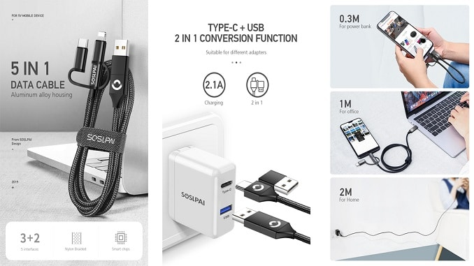cable multi usb